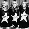 Madonna : pochette du single  Give Me All Your Luvin'