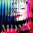 Madonna : pochette de l'album  MDNA , attendu le 26 mars 2012.