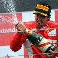 Fernando Alonso au Nürburgring le 24 juin 2011 en Allemagne