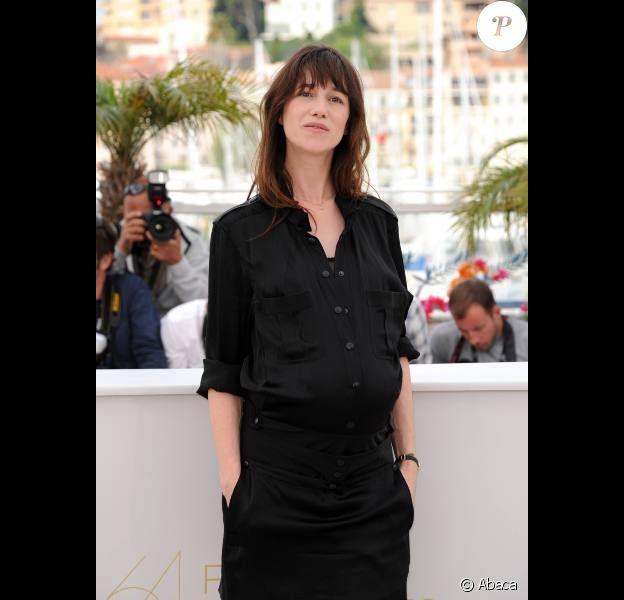 Charlotte Gainsbourg, en mai 2011 à Cannes.
