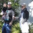 Pink et Carey Hart, à Los Angeles, le jeudi 26 janvier 2012.