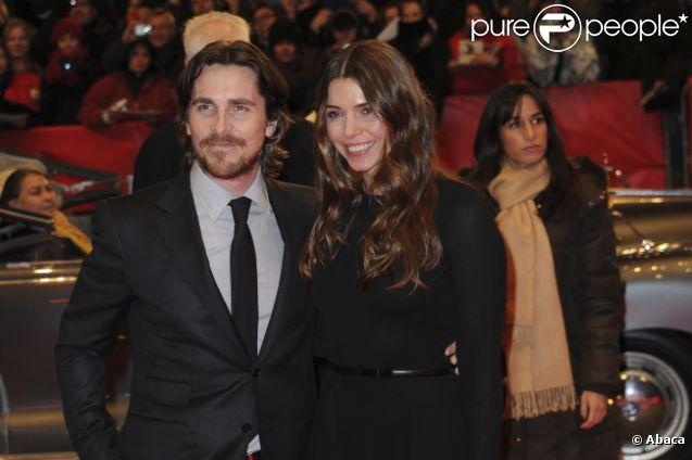 Christian Bale et sa femme Sandra Blazic pour l'avant-première de Flowers of War à Berlin, le 13 février 2012.