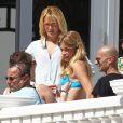Doutzen Kroes en shooting Victoria's Secret à Miami