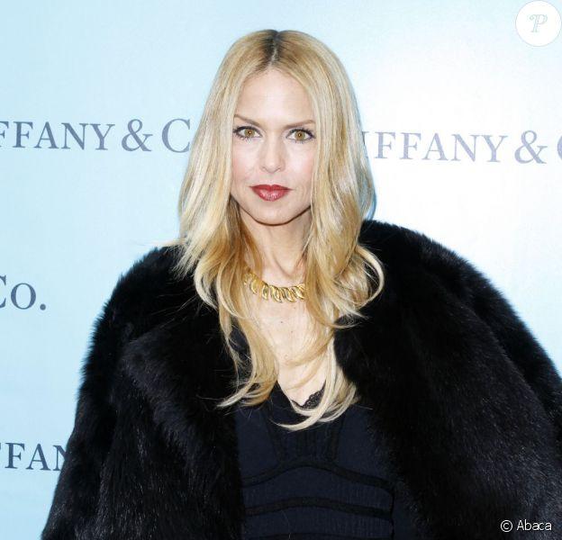 Rachel Zoe dévoilait ses vitrines Tiffany & Co., hommage au cinéma hollywoodien. New York, le 16 février 2012.