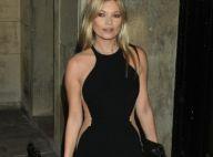 Kate Moss : Parfaite en début de soirée, elle finit en titubant