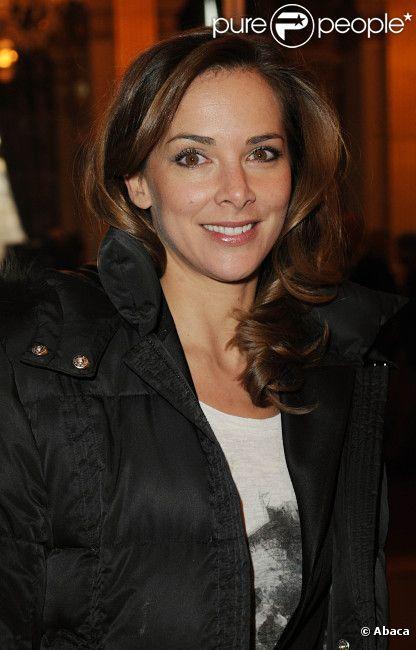 Melissa Theuriau lors de la 17ème cérémonie des Lauriers 2011 de la télévision et de la radio, à l'hôtel de ville de Paris, le 20 février 2012