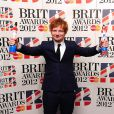 Ed Sheeran a reçu deux trophées aux Brit Awards. 21 février 2012