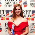 Lana Del Rey a reçu le trophée de la Découverte internationale de l'année aux Brit Awards. 21 février 2012