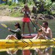 Jennifer Aniston en vacances avec Courteney Cox et David Arquette