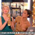 Julia Vignali, Miss Météo sur la Matinale de Canal+ a eu un petit souci de robe, jeudi 23 février. A retrouver à la 52e minutes de la vidéo