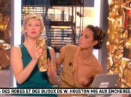 Julia Vignali, Miss Météo de la Matinale de Canal+, perd sa robe en direct
