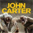 L'affiche de John Carter, en salles le 7 mars.