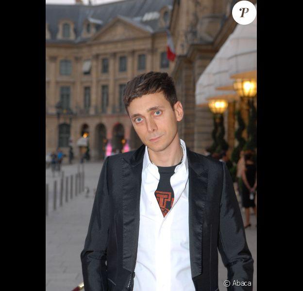 Hedi Slimane le 6 juillet 2006 à Paris