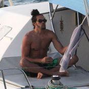 Joakim Noah : Anniversaire mouillé avec sa belle sous le soleil de Saint-Barth