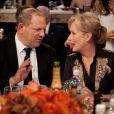 Harvey Weinstein et Meryl Streep (La Dame de Fer), en janvier 2012 à Los Angeles.