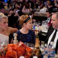 Harvey Weinstein et Michelle Williams (My Week with Marilyn), en janvier 2012 à Los Angeles.