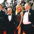 Leonardo DiCaprio, Martin Scorsese, Cameron Diaz et Harvey Weinstein, en mai 2002 à Cannes.