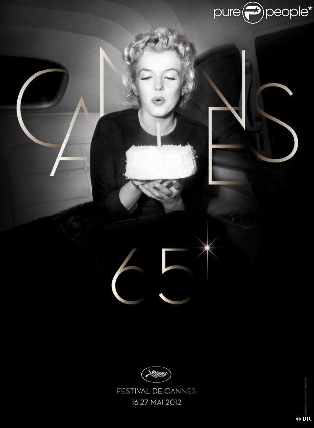 Le festival de Cannes 2012 se laisse charmer par Marilyn Monroe, à l'occasion des cinquante ans de sa mort.