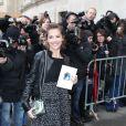 Melissa Theuriau au défilé Chanel à Paris le 6 mars 2012