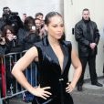 Alicia Keys au défilé Chanel à Paris le 6 mars 2012