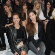 Melissa Theuriau et Maïwenn au premier rang du défilé Chanel