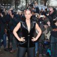 Alicia Keys en forme au défilé Chanel le 6 mars à Paris