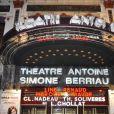 La générale de la pièce Harold et Maude au Théâtre Antoine dans le Xe arrondissement de Paris le 5 mars 2012