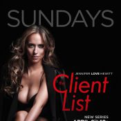 Jennifer Love Hewitt : sexy et dénudée, elle se dévoile pour The Client List