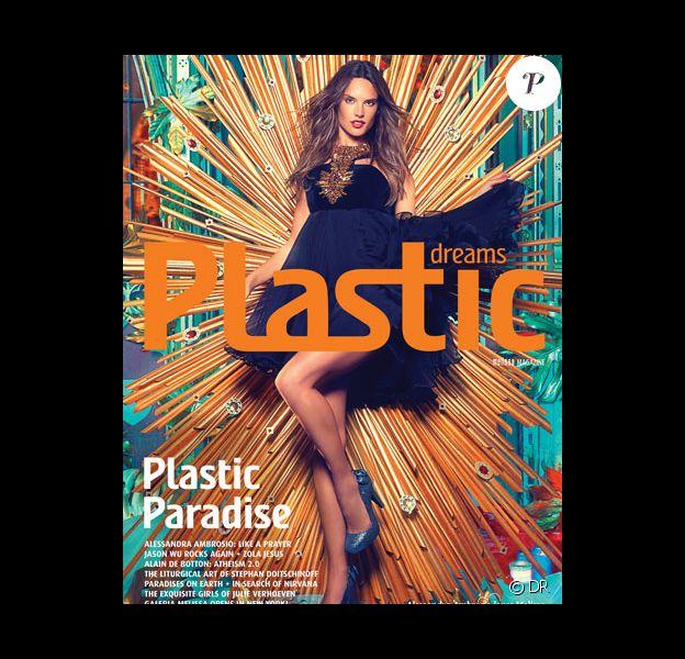 Alessandra Ambrosio sur la couverture du magazine Plastic Dreams