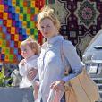 Nicole Kidman en famille à Los Angeles le 8 mars 2012