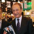Bertrand Delanoë inaugure le Salon du Livre à Paris, le vendredi 16 mars 2012.