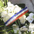Obsèques de Michel Duchaussoy au crématorium du cimetière du Père-Lachaise à Paris le 20 mars 2012