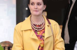 Gossip Girl : fashion faux pas pour Leighton Meester, quel look de mamie !