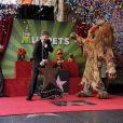 Les Muppets reçoivent leur étoile sur le Walk of Fame à Los Angeles, le 20 mars 2012.
