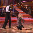 Martina Navratilova : sa première danse dans  Dancing With The Stars , sur ABC, le 19 mars 2012.