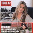 Chábeli Iglesias en couverture du magazine espagnol  ¡Hola!  révèle sa grossesse et la naissance de la petite Sofia, février 2012.