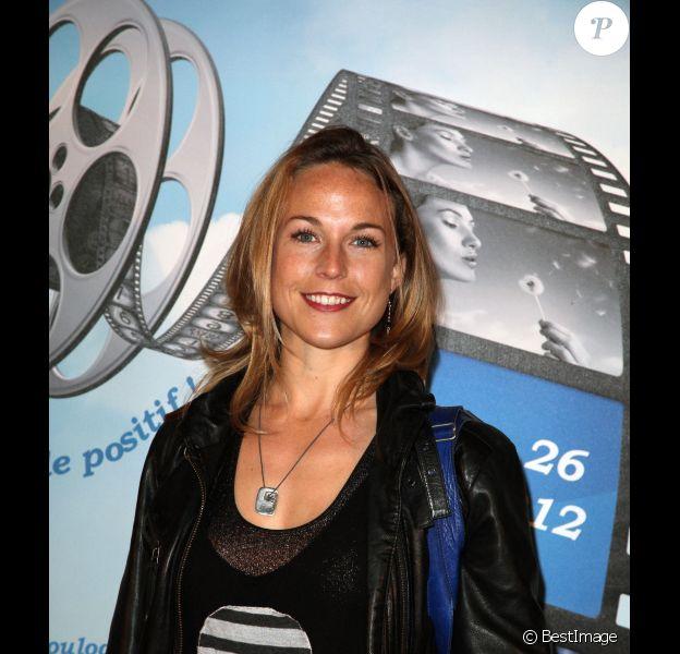 Aurélie Vaneck assiste à l'avant-première du film Le Prénom, à Boulogne, dans le cadre du Festival international du film de Boulogne-Billancourt, le vendredi 23 mars 2012.