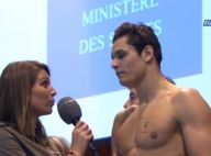 Laury Thilleman, atout charme d'Eurosport face à Manaudou à Dunkerque