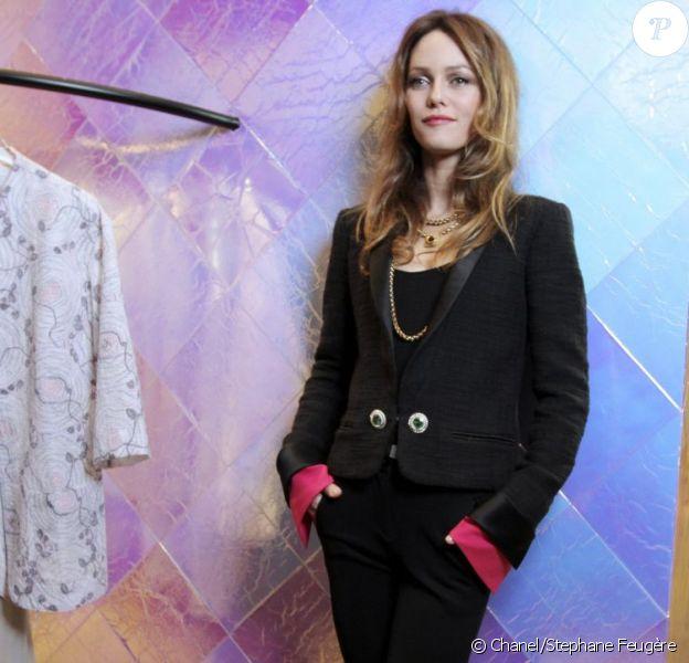 Vanessa Paradis, sublime lors d'un événement Chanel à Tokyo. Mars 2012
