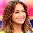 Jennifer Lopez a fait une apparition à la télévision  brésilienne dans l'émission  Melhor do Brasil  aux côtés de son amoureux  Casper Smart, le 26 mars 2012 à São Paulo