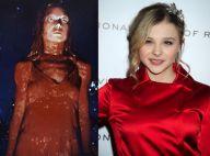 Carrie : Chloë Moretz ensanglantée dans le remake du film culte