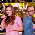 Battle entre Jhony et Emma dans The Voice le samedi 31 mars 2012 sur TF1