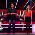Battle entre Pia et Patrice dans The Voice le samedi 31 mars 2012 sur TF1