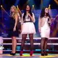 Battle entre Elodie, Stéphanie et Linda dans The Voice le samedi 31 mars 2012 sur TF1