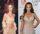 Jennifer Love Hewitt en février 2000 / mars 2012 à Los Angeles.