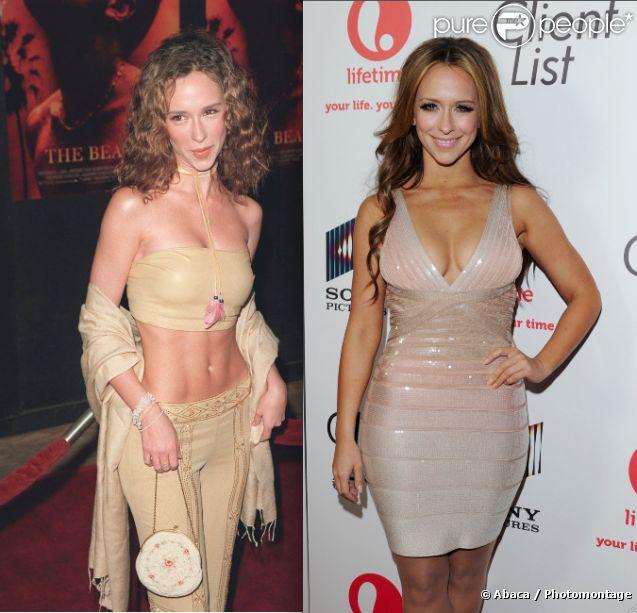Jennifer Love Hewitt en février 2000 / mars 2012 à Los Angeles.