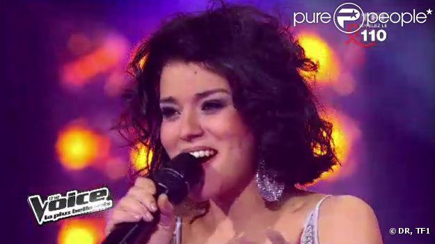 Sonia Lacen, talent de Jenifer dans The Voice