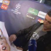 Cristiano Ronaldo devant son portrait : ''Vraiment moche !''