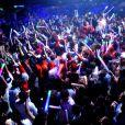 Ambiance de feu au Queen, le samedi 7 avril, lors de l'after organisé par David Guetta dans la célèbre discothèque parisienne.