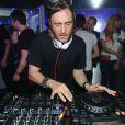 David Guetta au Queen, le samedi 7 avril, lors de l'after organisé après son concert à Bercy.